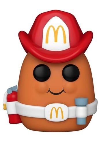 POP Ad Icons McDonalds Fireman Nugget Figure