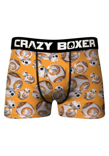 Crazy Boxer Mens BB 8 Boxer Briefs