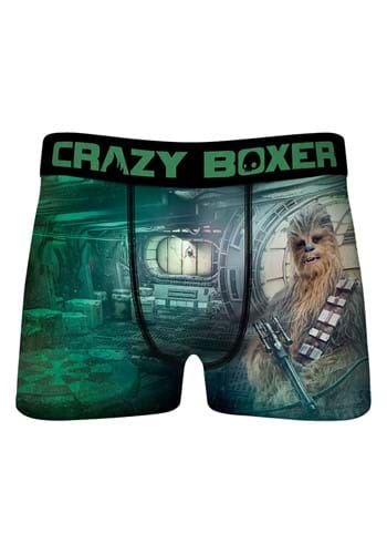 Crazy Boxer Chewbacca Boxer Briefs for Men
