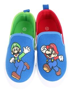 Mario and Luigi Slip On Shoes for Kids
