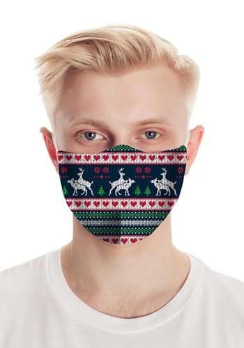 Humping Deer Face Mask