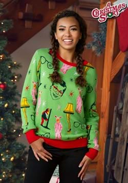 A Christmas Story Ugly Christmas Sweater for Adults