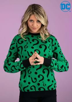 Adult The Riddler Ugly Christmas Sweater main update