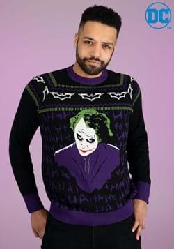 The Joker Dark Knight Ugly Christmas Sweater