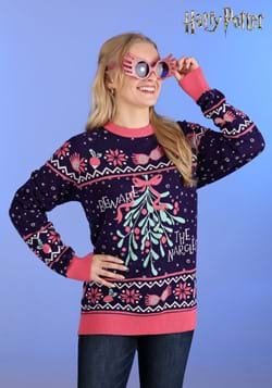 Harry Potter Luna Lovegood Ugly Sweater for Adults main