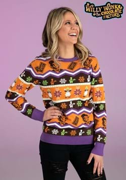 Willy Wonka Ugly Sweater for Adults
