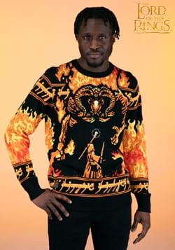Lord of the Rings You Shall Not Pass Ugly Sweater-2