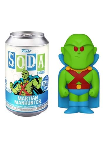 Funko Vinyl SODA DC Martian Manhunter
