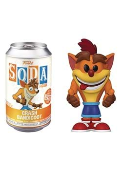 Funko Vinyl SODA Crash Bandicoot