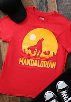 The Mandalorian Mens Red Shirt-update
