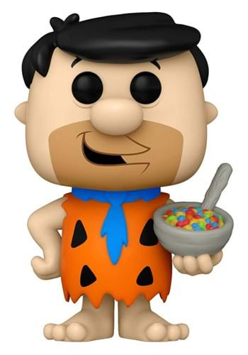 POP Ad Icons Fruity Pebbles Fred with Cereal Figure