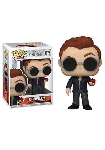 POP TV Good Omens Crowley with Apple