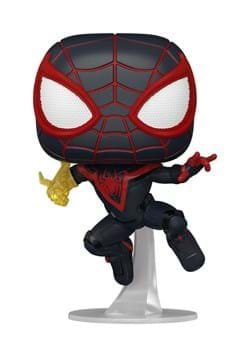 POP Games Marvels Spider Man Miles Morales Classic Suit Upd