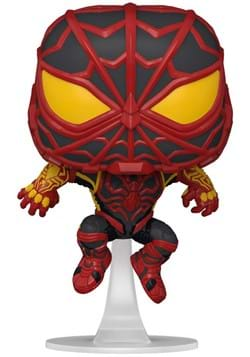 POP Games Spider Man Miles Morales Game STRIKE Suit