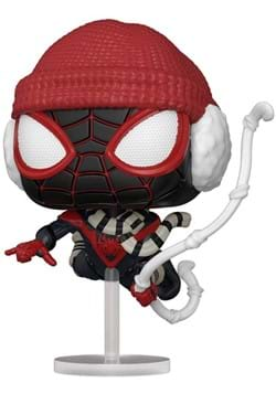 POP Games Spider Man Miles Morales Game Winter Suit