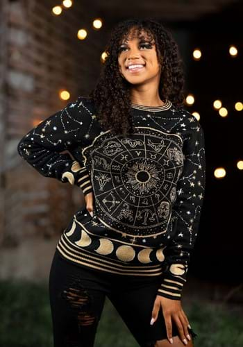 Astrology Signs Ugly Sweater for Adults-update2