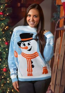 Friendly Snowman Ugly Christmas Sweater