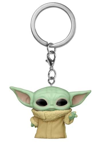 POP Keychain Star Wars The Mandalorian Grogu The Child