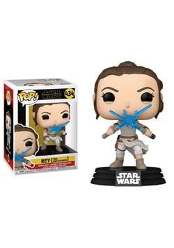 POP Star Wars: SWEp9- Rey w/2 Light Sabers