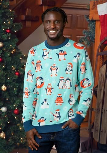 Penguins Ugly Christmas Sweater for Adults