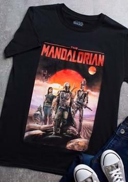 Men's Mandalorian Poster T-Shirt-1