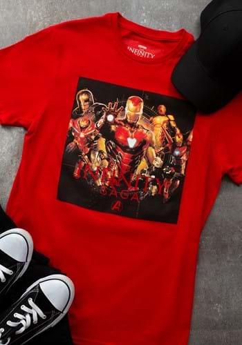 Mens Marvel SAGA IRON MAN T-Shirt-1