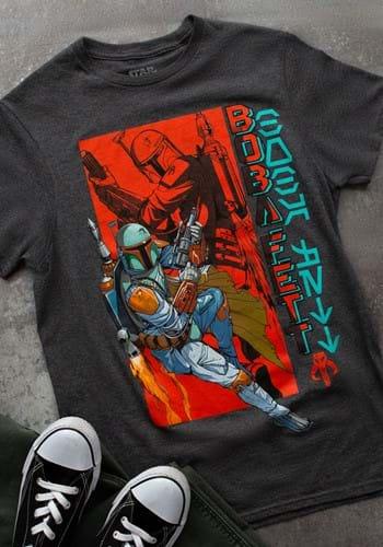Mens Star Wars Boba Fett T-Shirt-1