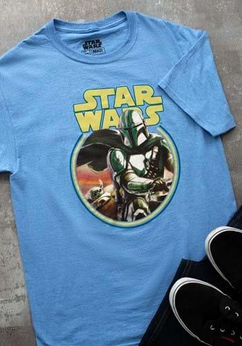 Star Wars The Mandalorian Team Circle T-Shirt-1