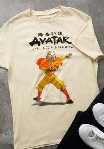 Mens Avatar State Aang T-Shirt-1