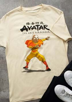 Mens Avatar State Aang T-Shirt-1