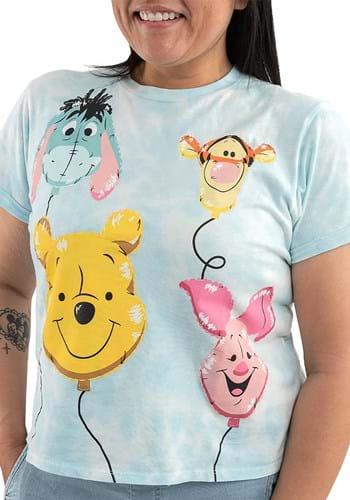 Loungefly Disney Pooh Friends Balloons Womens T Shirt