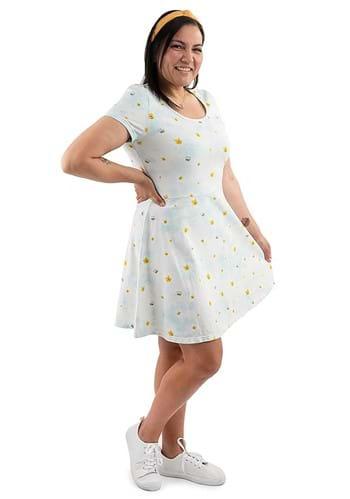 Loungefly Disney Pooh Daisy Skater Dress for Women