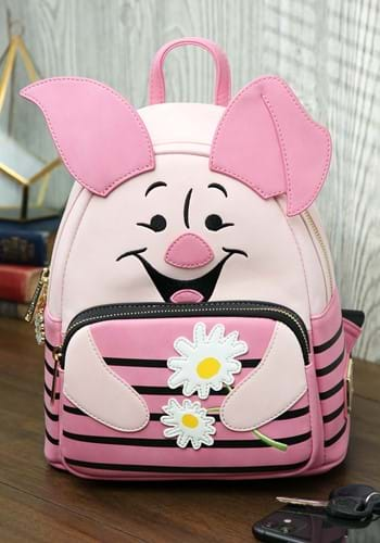 Winnie The Pooh Piglet Cosplay Mini Backpack-1