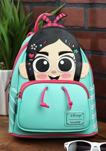 Wreck-It Ralph Vanellope Cosplay Mini Backpack-1