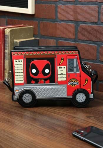 Pop By Loungefly Deadpool 30th Anniversary Chimichangas Bag-
