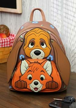 Loungefly Disney Fox and Hound Todd And Copper Cos-1