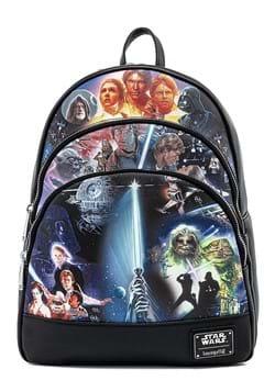 Loungefly Star Wars Original Triology Backpack