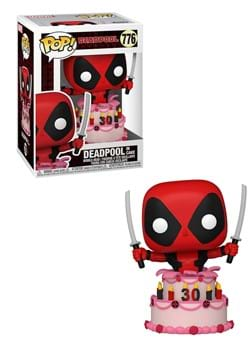 POP Marvel Deadpool 30th Deadpool in Cake Figure