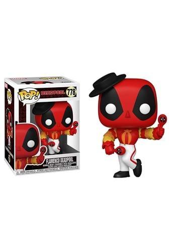 POP Marvel Deadpool 30th Flamenco Deadpool Figure
