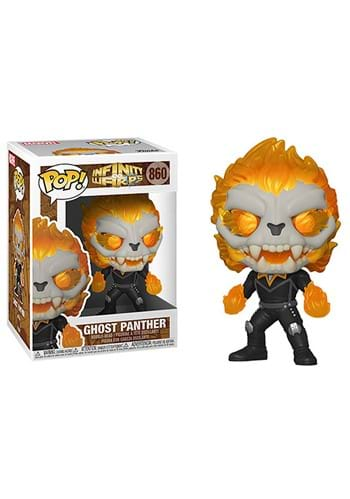 Funko POP Marvel Infinity Warps Ghost Panther
