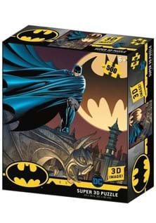 Bat Signal Lenticular 3D Image Jigsaw Puzzle
