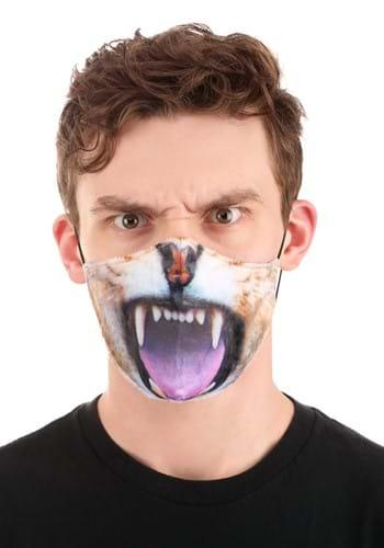 Adult Lion Sublimated Face Mask