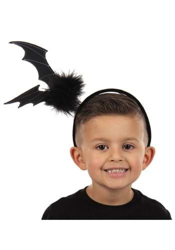Black Bat Springy Headband