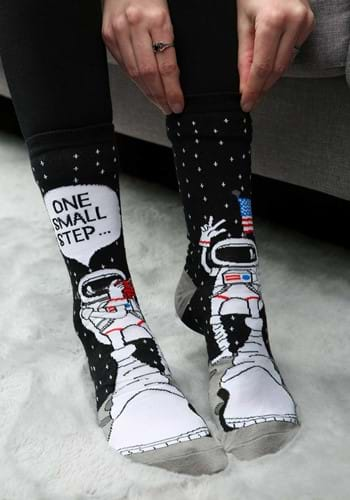 Foot Forward Astronaut Socks for Adults