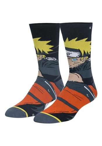 Naruto Mens Crew Sock