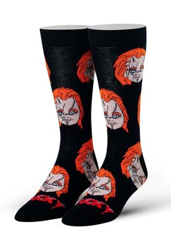 Chucky Heads Men Socks