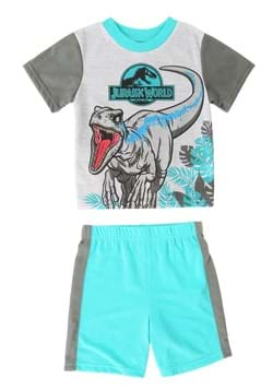 Boys Jurassic World Run Pajama Set