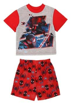 Boys Spiderman Be Great Short Sleepwear Set