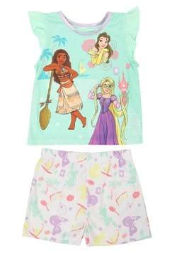 Toddler Disney Princess Short Sleep Set