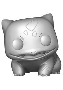 POP Games Pokemon S6 Bulbasaur Silver Metallic Figure